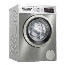 Bosch Serie 6 WUU28T6XES lavadora Independiente Carga frontal 8 kg 1400 RPM C Acero inoxidable