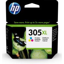 HP Cartucho de tinta Original 305XL de alta capacidad tricolor