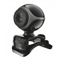 Trust Exis Webcam cámara web 0,3 MP 640 x 480 Pixeles USB 2.0 Negro