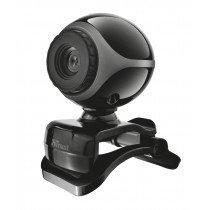 Trust Exis Webcam cámara web 0,3 MP 640 x 480 Pixeles USB 2.0 Negro