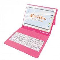 e-Vitta EVUN000511 teclado para móvil Español Rosa