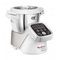 Moulinex Cuisine Companion 4.5L 1550W Plata, Blanco olla multi-cocción