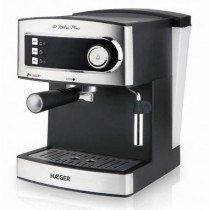 Haeger CM-85B.006A cafetera eléctrica Independiente Cafetera de filtro Negro 1,6 L Semi-automática