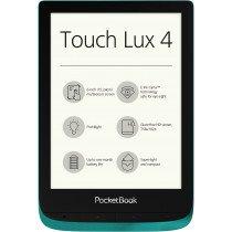 Pocketbook Touch Lux 4 lectore de e-book Pantalla táctil 8 GB Wifi Verde