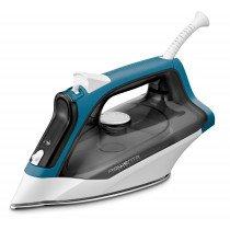 Rowenta Effective 2 DX1550 Plancha seco Suela de acero inoxidable Negro, Azul, Blanco 2200 W