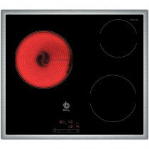 Balay 3EB714XR hobs Negro Built-in (placement) Cerámico 3 zona(s)