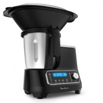 Moulinex HF4SPR30 robot de cocina 1400 W 3,6 L Negro Balanza integrada