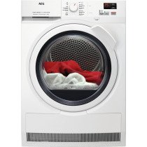 AEG T7DBK841Z Independiente Carga frontal Blanco 8 kg A++