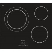 Bosch Serie 4 PKK611B17E hobs Negro Built-in (placement) Cerámico 3 zona(s)