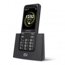 "myPhone Halo Q 7,11 cm (2.8"") 110 g Negro Teléfono para personas mayores"