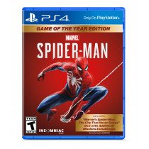 Sony Marvel's Spider-Man: Game of the Year Edition, PS4 vídeo juego PlayStation 4