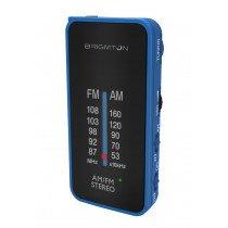 Brigmton BT-224 radio Portátil Analógica Negro, Azul