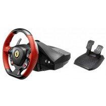 Thrustmaster Ferrari 458 Spider Volante + Pedales Xbox One Negro, Rojo