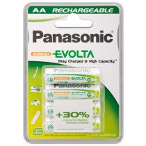 Wentronic AA 2.05Ah NiMH 4-BL EVOLTA Panasonic Rechargeable battery Níquel-metal hidruro (NiMH)
