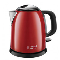 Russell Hobbs 24992-70 tetera eléctrica 1 L Negro, Rojo 2400 W