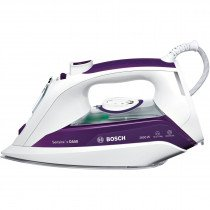 Bosch Sensixx'x DA50 Plancha vapor-seco Suela de Ceranium Púrpura, Blanco 2800 W