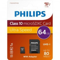 Philips FM64MP45B/10 memoria flash 64 GB MicroSDHC Clase 10 UHS-I
