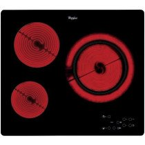 Whirlpool AKT 807/BF hobs Negro Built-in (placement) Cerámico 3 zona(s)