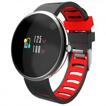 "Muvit MIOSMW013 smartwatch OLED 2,41 cm (0.95"") Negro"