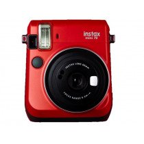 Fujifilm instax mini 70 62 x 46mm Rojo cámara instantánea impresión