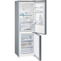 Siemens iQ300 KG36NXI3A nevera y congelador Freestanding (placement) Gris, Acero inoxidable 324 L A++