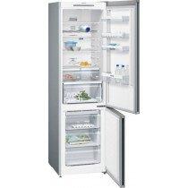 Siemens iQ300 KG39NVI45 nevera y congelador Freestanding (placement) Metálico 366 L A+++