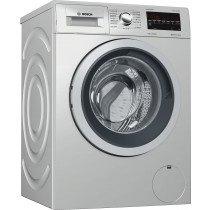 Bosch Serie 6 WAT2449XES lavadora Independiente Carga frontal Acero inoxidable 8 kg 1200 RPM A+++
