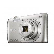 "Nikon COOLPIX A300 Cámara compacta 20,1 MP 1/2.3"" CCD 5152 x 3864 Pixeles Plata"