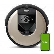 iRobot Roomba i6 aspiradora robotizada 0,4 L Sin bolsa Beige, Negro