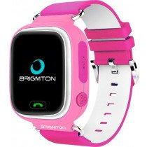 "Brigmton BWATCH-KIDS-R reloj inteligente Rosa, Blanco LCD 3,1 cm (1.22"") Móvil GPS (satélite)"