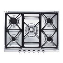 Smeg SE70SGH-5 hobs Plata Built-in (placement) Encimera de gas 5 zona(s)