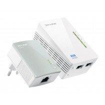 TP-LINK TL-WPA4220KIT adaptador de red powerline 300 Mbit/s Ethernet Wifi