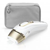Braun Silk-expert Pro PL 5014 Luz pulsada intensa (IPL) Blanco, Oro