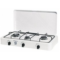 Orbegozo FO 3450 hobs Blanco Countertop (placement) Encimera de gas 3 zona(s)