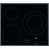 AEG IKB63302FB hobs Negro Integrado Con placa de inducción 3 zona(s)