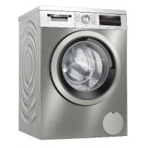 Bosch Serie 6 WUU28T7XES lavadora Independiente Carga frontal 9 kg 1400 RPM C Acero inoxidable