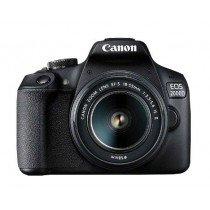 Canon EOS 2000D BK 18-55 IS II EU26 Juego de cámara SLR 24,1 MP CMOS 6000 x 4000 Pixeles Negro