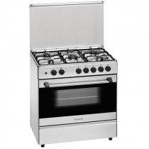 Meireles G 801 X Cocina independiente Acero inoxidable Encimera de gas