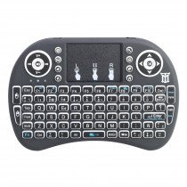 Maillon Technologique Mini teclado RF inalámbrico QWERTY Español Negro