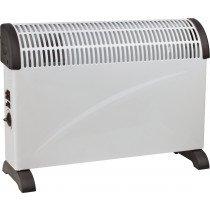 SVAN SVCA01STCO calefactor eléctrico Interior Negro, Blanco 2000 W