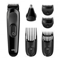 Braun MGK3020 Mojado y seco Negro depiladora para la barba