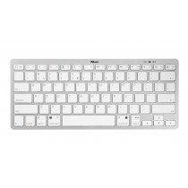 Trust Nado ES teclado Bluetooth QWERTY Español Plata