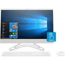 """HP 24 -f0035ns 60,5 cm (23.8"""") 1920 x 1080 Pixeles 8ª generación de procesadores Intel® Core™ i3 8 GB DDR4-SDRAM 256 GB SSD Wi-Fi 5 (802.11ac) Blanco PC todo en uno Windows 10 Home"""