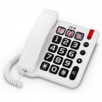 SPC Comfort Numbers Teléfono Blanco 3294B