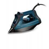 Rowenta DW7120 Everlast Anticalc Plancha vapor-seco Suela Microsteam 400 Negro, Azul 2800 W