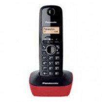 Panasonic KX-TG1611 DECT Identificador de llamadas Negro, Rojo