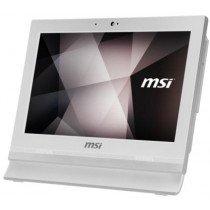 "MSI Pro 16T 7M-002XEU 39,6 cm (15.6"") 1366 x 768 Pixeles Pantalla táctil Intel® Celeron® 4 GB DDR4-SDRAM 500 GB Unidad de disco duro Wi-Fi 5 (802.11ac) Blanco PC todo en uno FreeDOS"