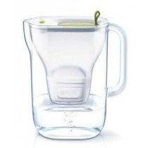Brita Style Filtro de agua para jarra Cal, Transparente, Blanco 2,4 L