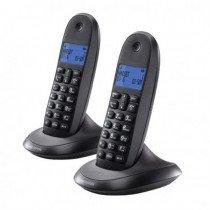 Motorola C1002 teléfono Teléfono DECT Gris Identificador de llamadas
