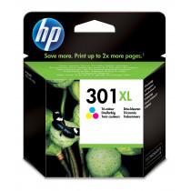 HP Cartucho de tinta original 301XL de alta capacidad Tri-color